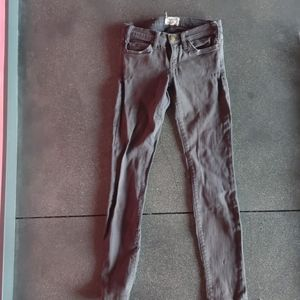 Current Elliott the skinny grey ink jeans 26